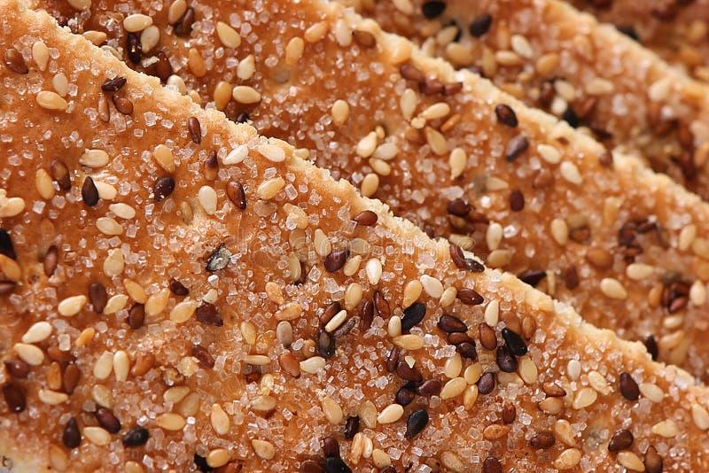 Kuchen des indischen Sesams lizenzfreie stockfotos