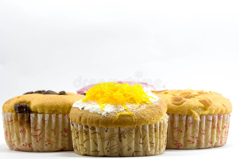 Kuchen des süßen Cup stockbilder