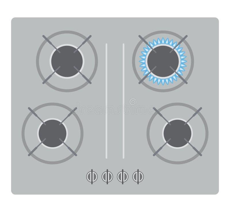 kuchenka ilustracji