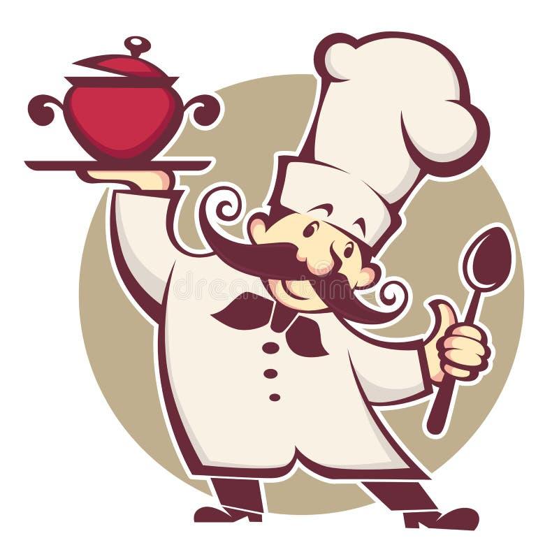 kuchenka ilustracja wektor