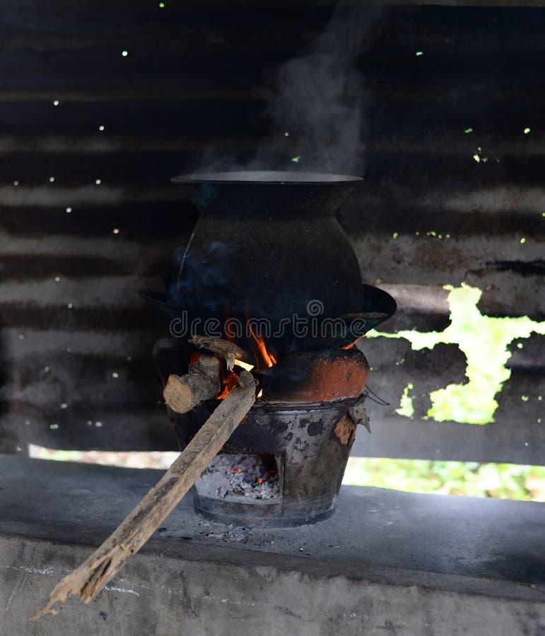 Kuchenka kucharz obraz stock