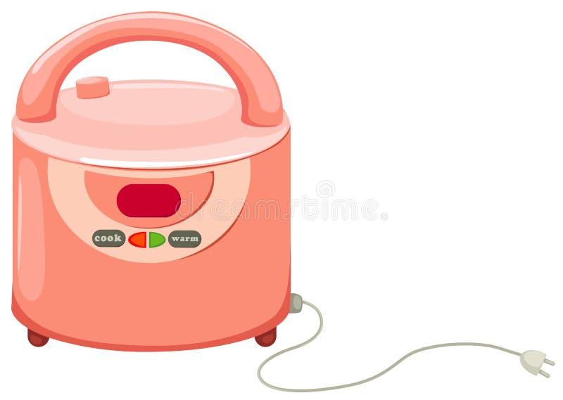 kuchenka ryż ilustracji