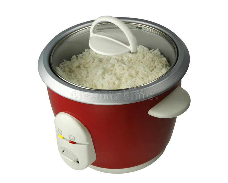 kuchenka ryż obraz royalty free