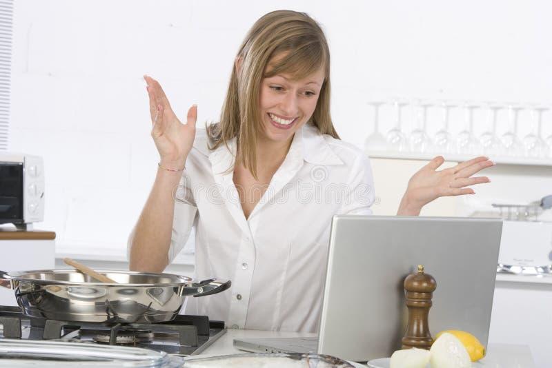 kuchenna kobieta zdjęcia royalty free