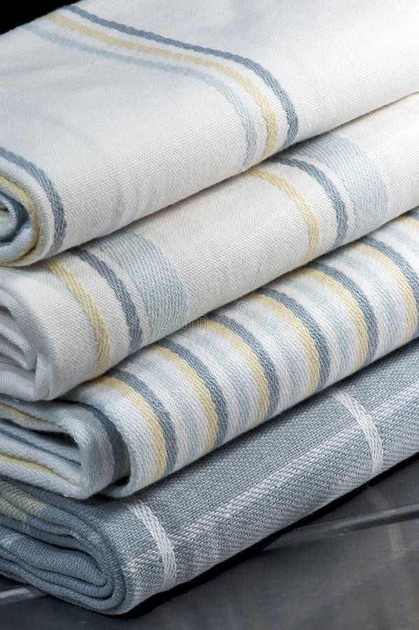 Kuchenne Pościele - Herbaciani Ręczniki zdjęcia stock