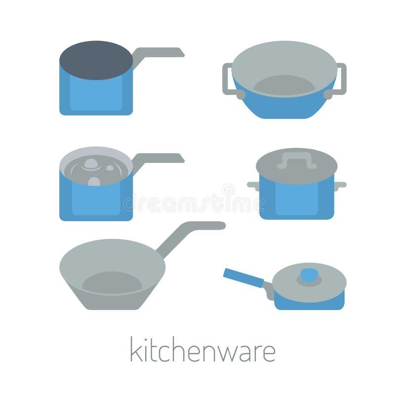 Kuchenne rzeczy ilustracji