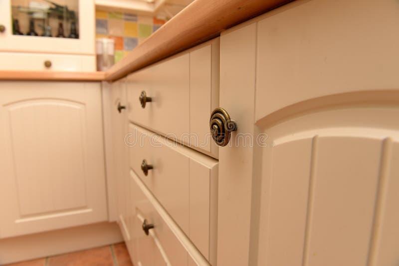 Kuchenni gabinety obraz stock