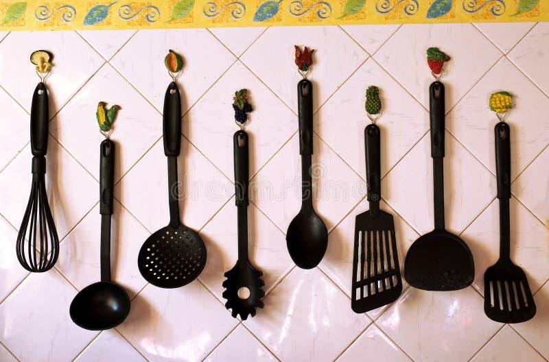 kuchenni narzędzia fotografia stock