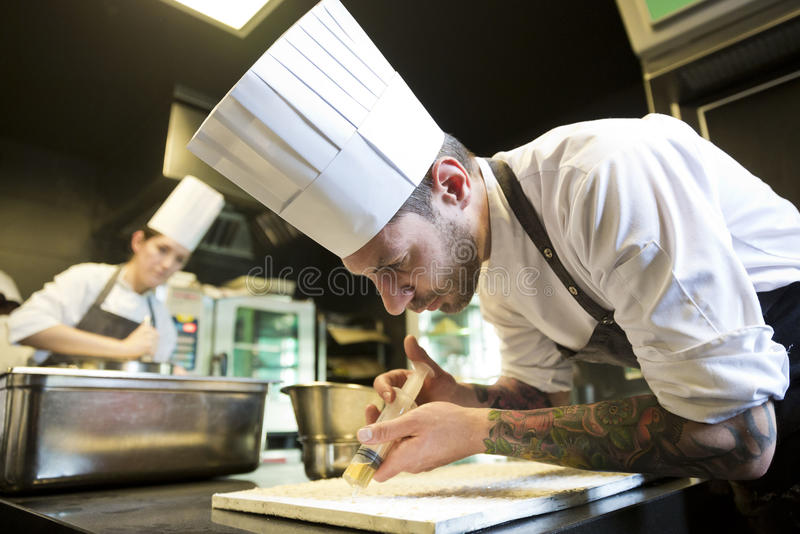 Kuchenni pracownicy 009 obrazy stock