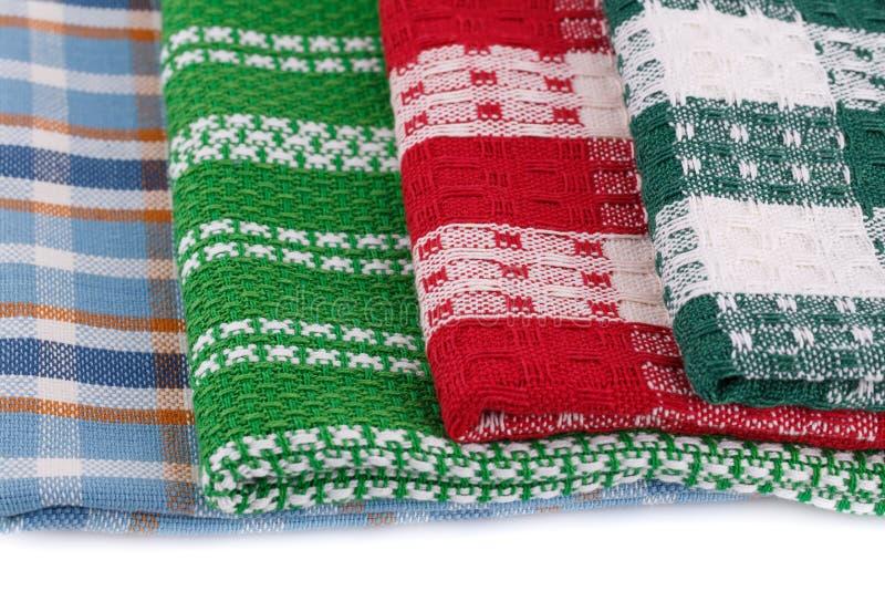 Kuchenni ręczniki zdjęcie royalty free