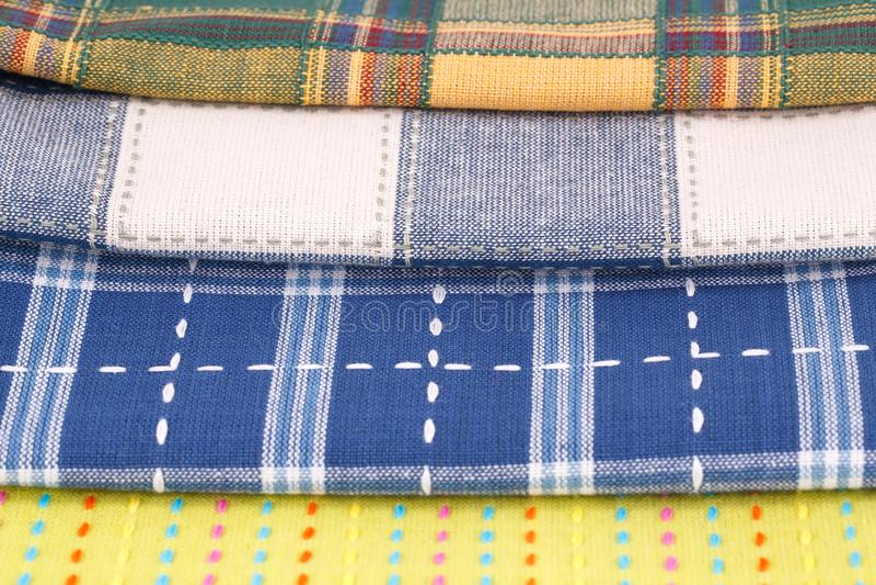 Kuchenni ręczniki zdjęcie stock