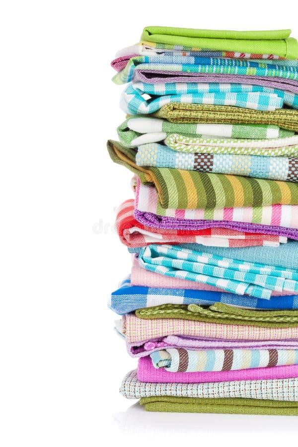 Kuchenni ręczniki zdjęcia stock