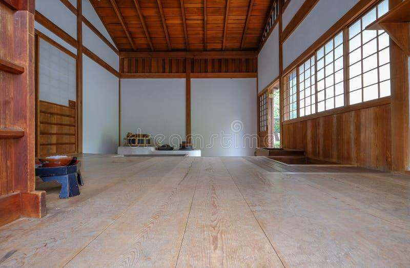 Kuchenny kucharstwa i łomotać teren tradycyjna Japońska herbata ho obraz stock