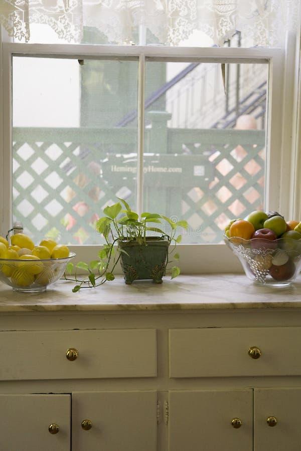 Kuchenny okno przy Ernest Hemingway ` s domem w Key West, Floryda zdjęcia stock