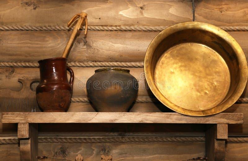 kuchenny stary naczynie zdjęcia stock