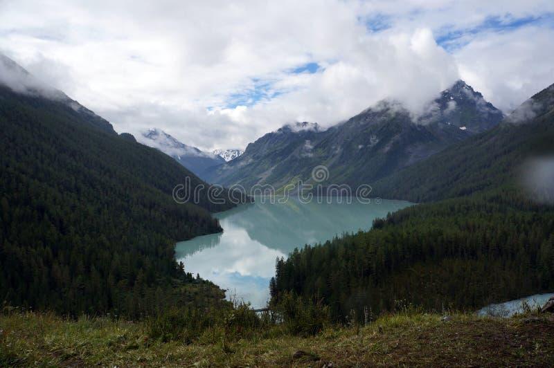 Kucherlinskoe sjö royaltyfri foto