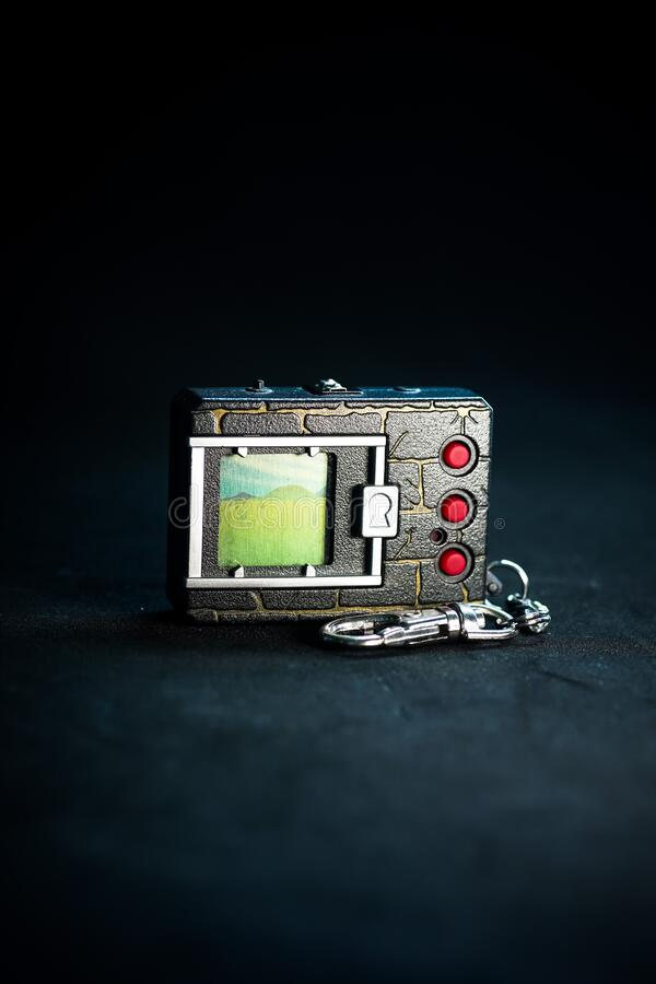 VPet 20th anniversary edition. Kuching, Malaysia - May 2019. VPet 20th anniversary edition, Virtual Pet for the 20th Anniversary of the Digimon franchise but stock images