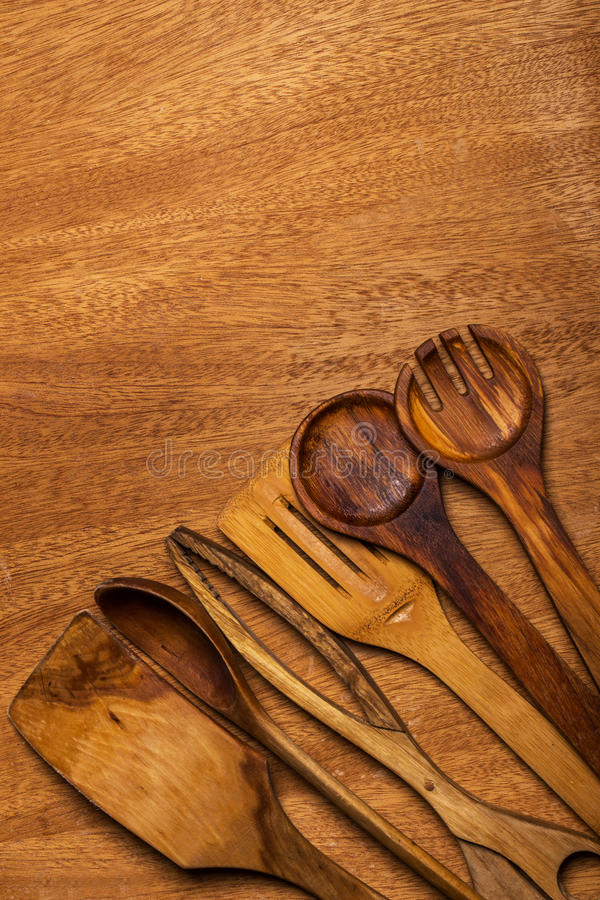 Download Kuchnia Drewniany naczynie zdjęcie stock. Obraz złożonej z kuchnia - 41954144