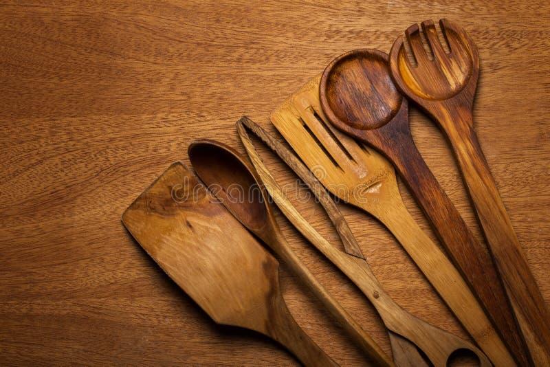 Download Kuchnia Drewniany naczynie obraz stock. Obraz złożonej z instrument - 41954157
