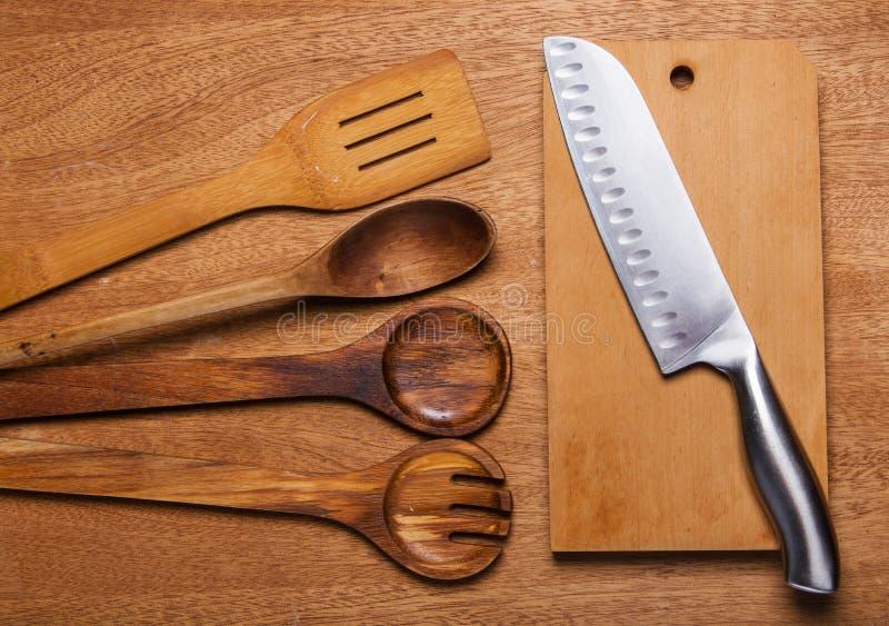 Download Kuchnia Drewniany naczynie obraz stock. Obraz złożonej z rozwidlenie - 41954343