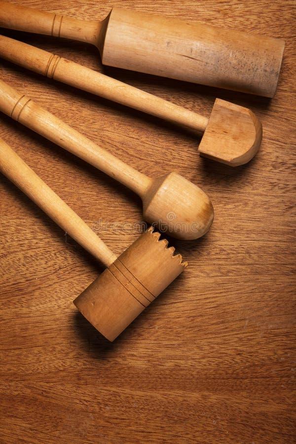 Download Kuchnia Drewniany naczynie obraz stock. Obraz złożonej z rozwidlenie - 41954367