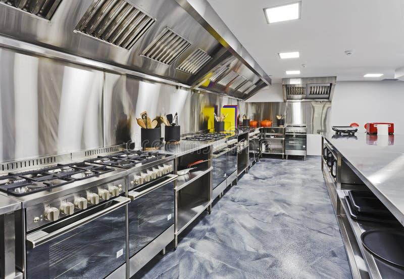 Kuchnia nakrywa perspektywę obrazy stock
