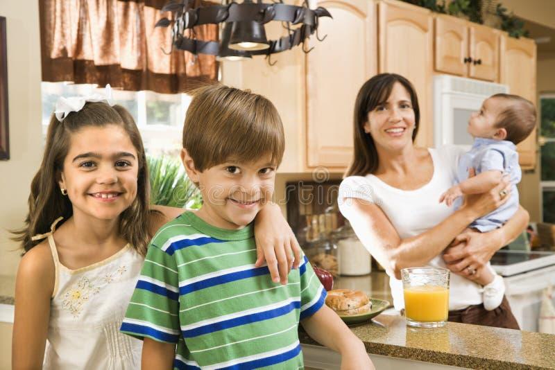 kuchnia rodzinna obraz stock
