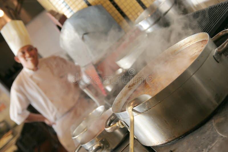 kuchnia szefa kuchni obrazy stock
