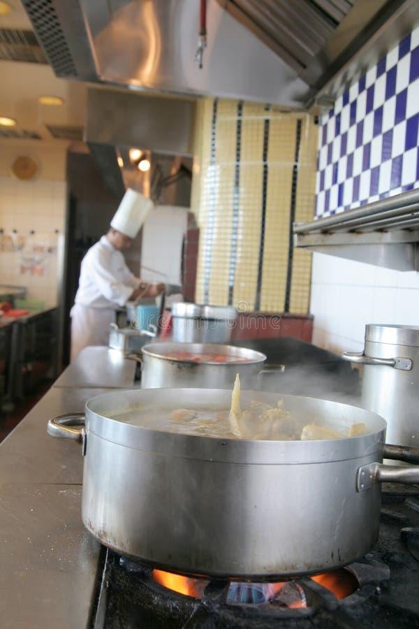 kuchnia szefa kuchni zdjęcie stock