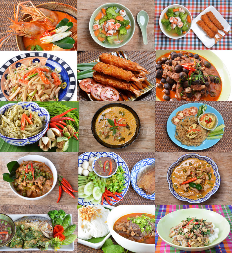 kuchnia tajska obrazy stock
