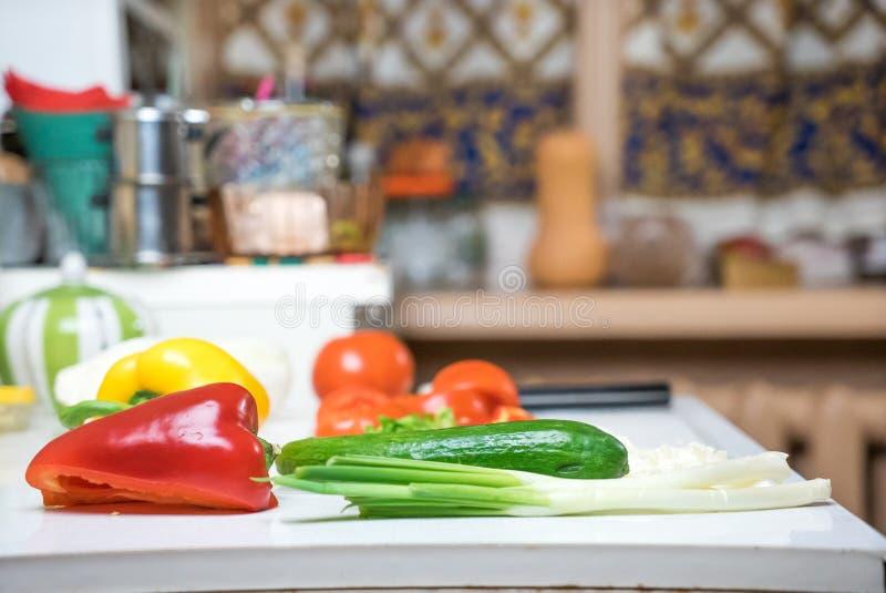 kuchnia wewnętrzna obraz royalty free