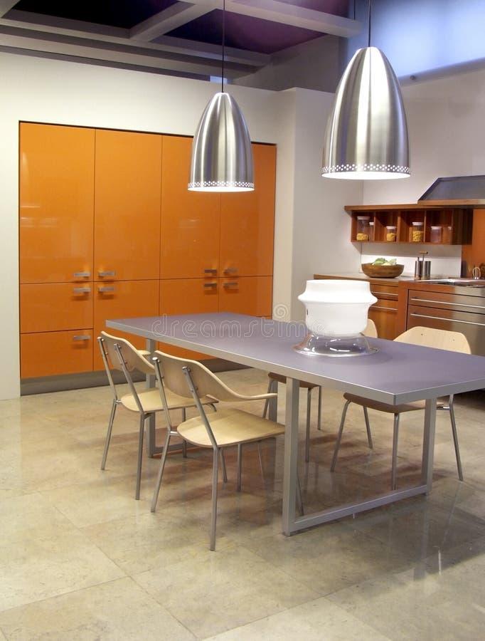 kuchnia współczesnej architektury zdjęcia royalty free