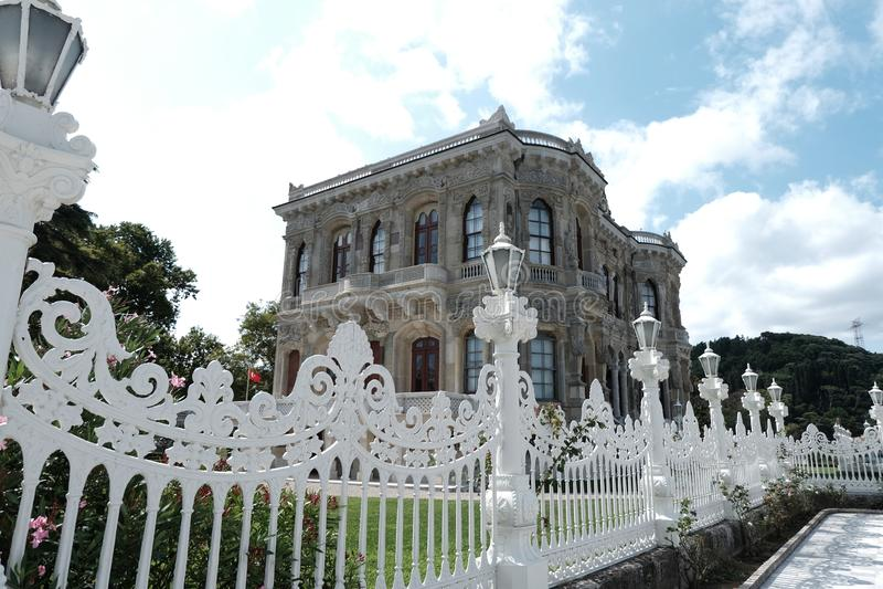 Kucuksu-Palast in Beykoz, Istanbul-Stadt, die Türkei am 4. August 2019 stockfoto