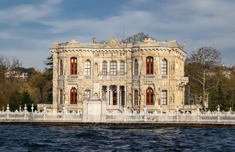 Kucuksu-Palast in Istanbul-Stadt, die Türkei stockbilder