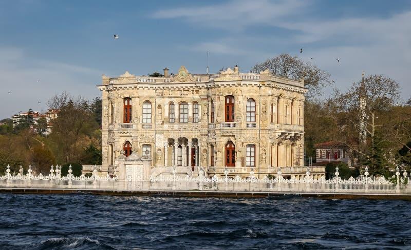 Kucuksu-Palast in Istanbul-Stadt, die Türkei lizenzfreies stockfoto