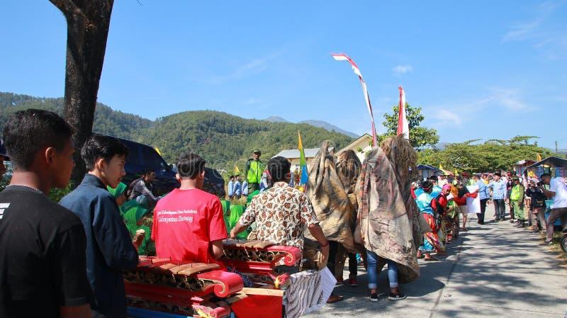 Kuda die, een Javanese traditioneel art. samenvoegen royalty-vrije stock afbeeldingen