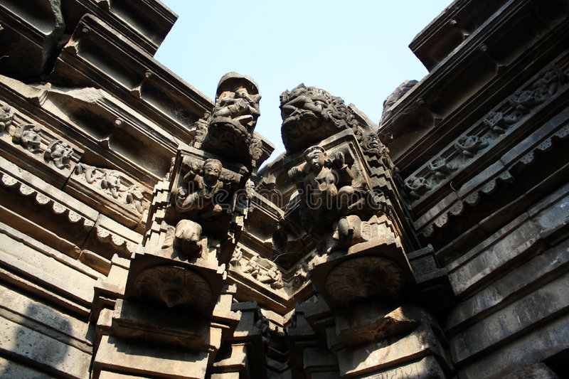 Download Kudal Sangam Ruins stock photo. Image of religion, carved - 8233556