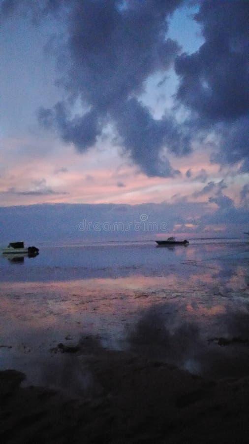 Kudeta巴厘岛早晨 库存图片
