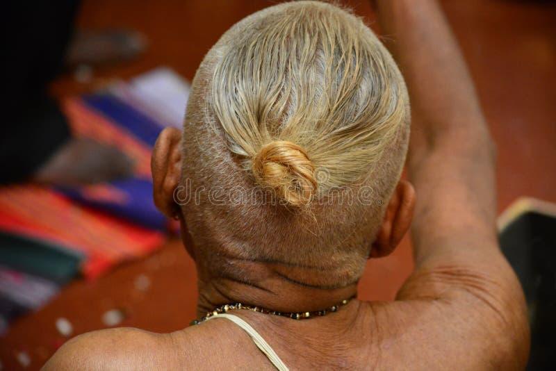 Kudumi ou Sikha fotos de stock royalty free