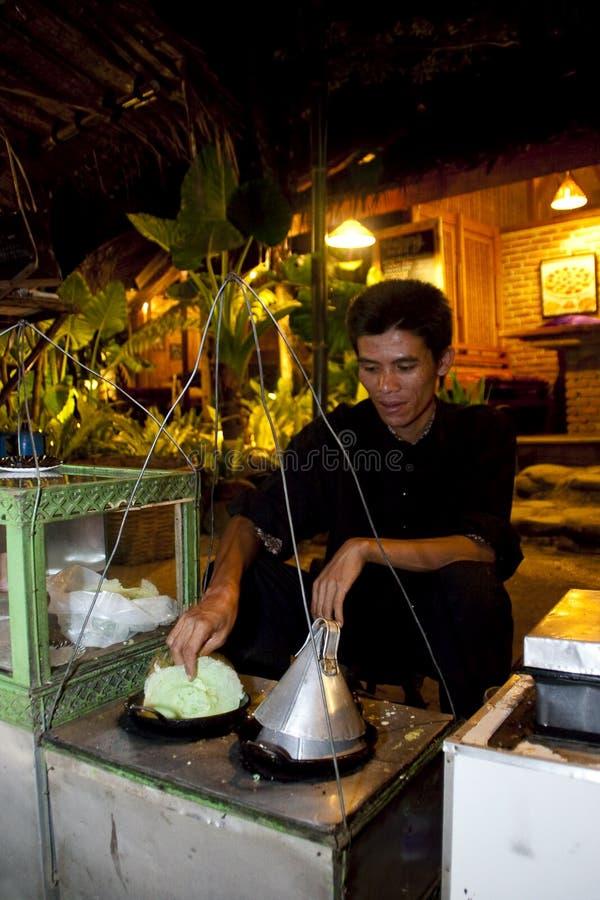 kue Индонесии десерта обезьяны традиционное стоковое изображение