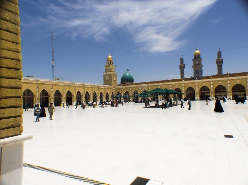 Kufa meczet obraz royalty free