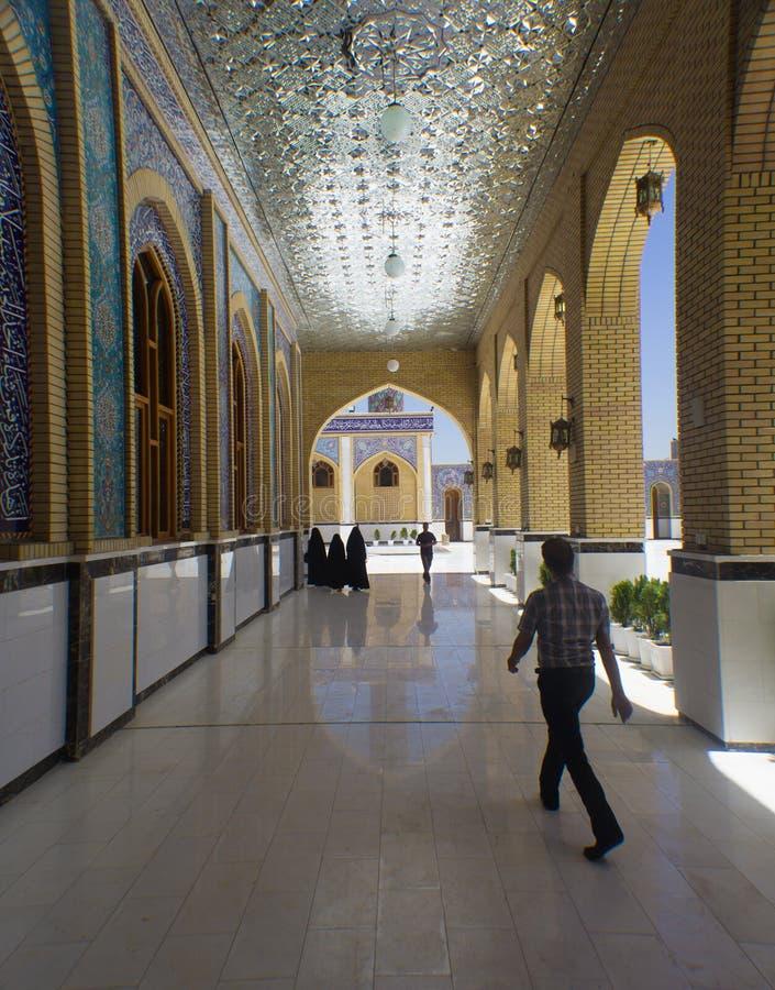 Kufa meczet fotografia stock
