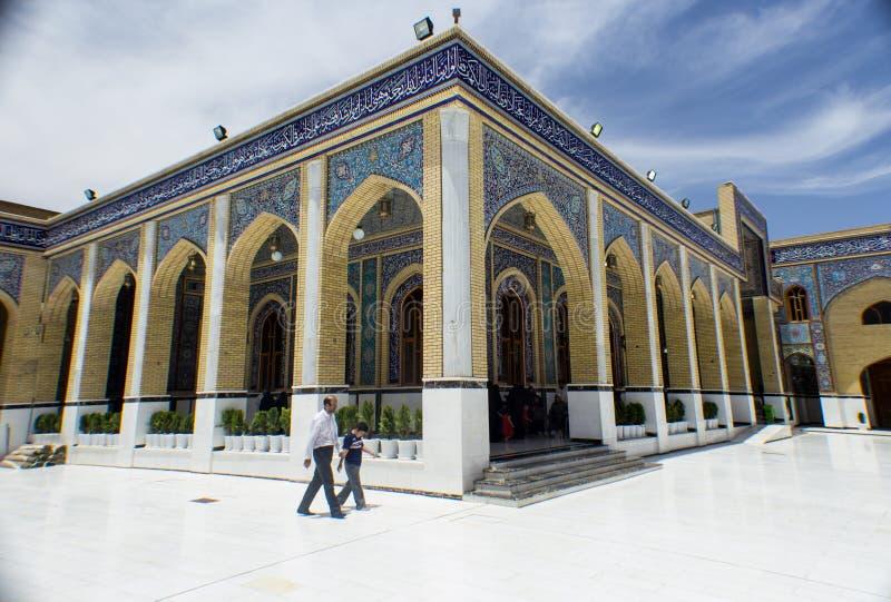 Kufa moské royaltyfria bilder