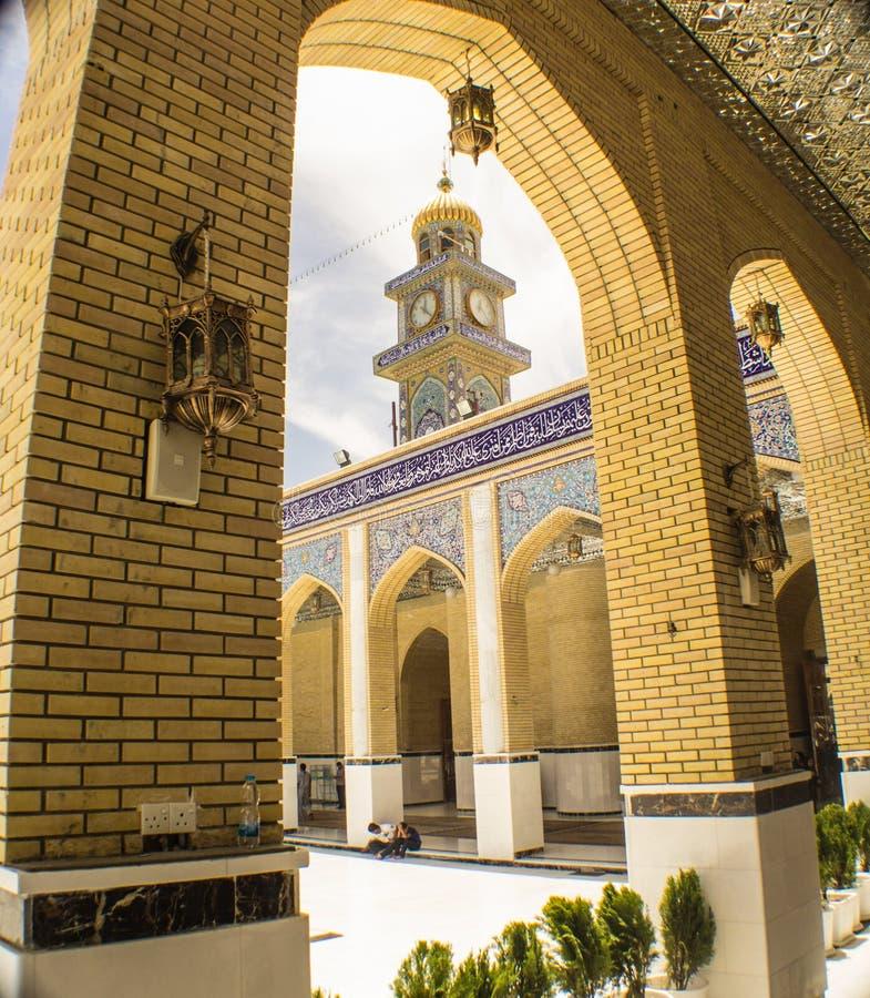 Kufa moské royaltyfria foton