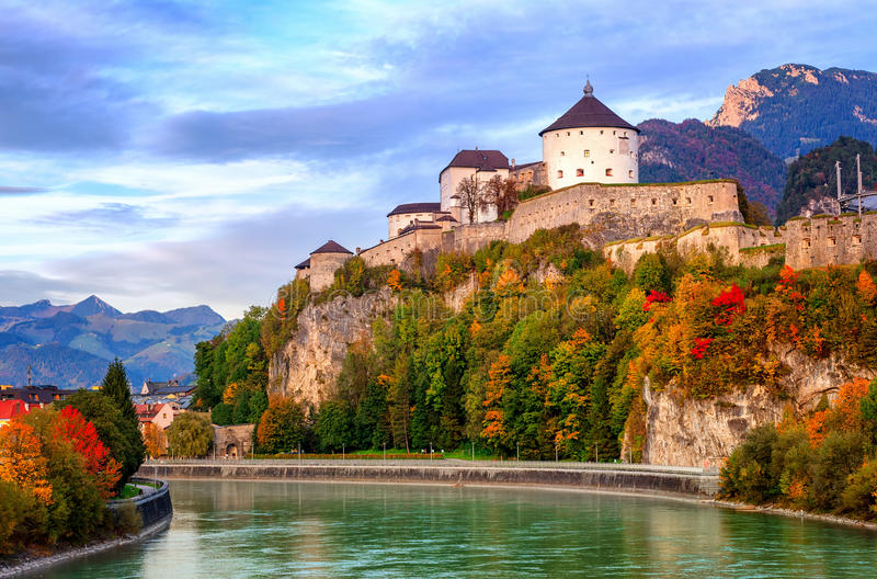 Kufstein, Áustria imagens de stock royalty free
