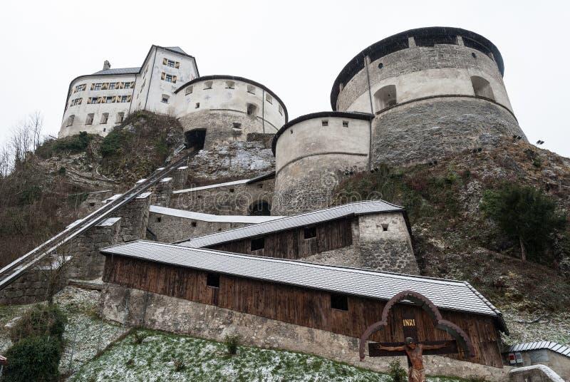 Kufstein forteca, Austria obrazy royalty free