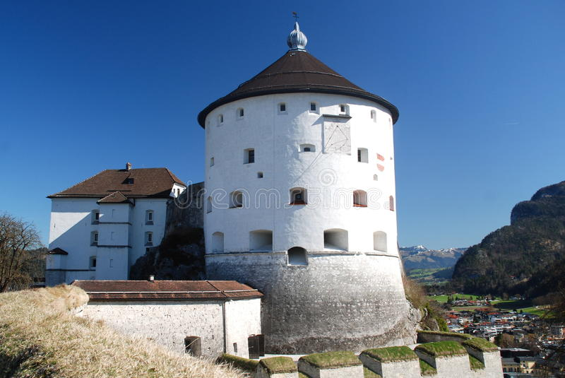 The Kufstein Fortress, Tyrol, Austria stock photo