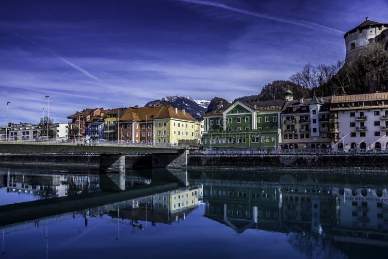 Kufstein, Tirol, Oostenrijk stock fotografie