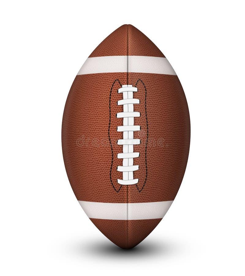 Kugel des amerikanischen Fußballs lizenzfreie stockfotos