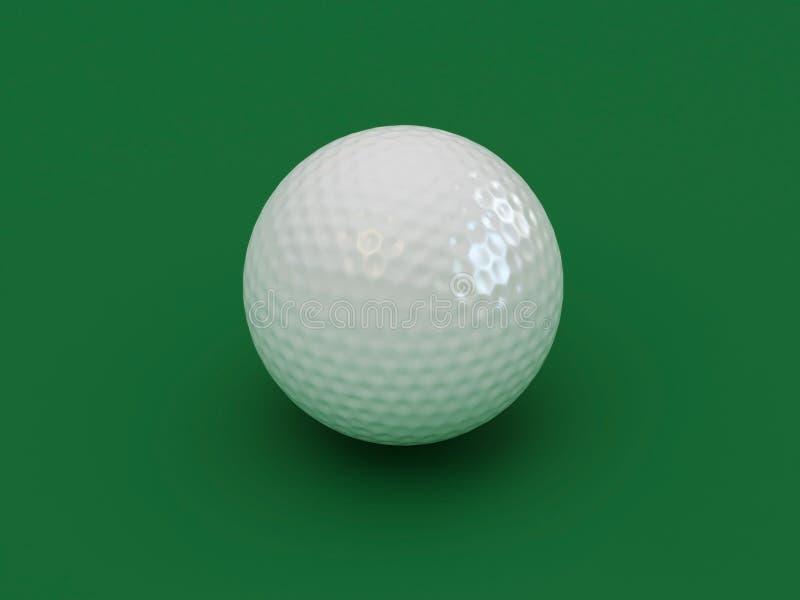 Kugel für ein Golf stock abbildung